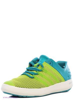 Обувь Для Водных Видов Спорта Взр. Climacool Boat Pure Adidas. Цвет: светло-зеленый