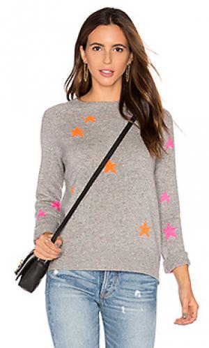 Свитер из кашемира с рисунком звезда ceres 360 Sweater. Цвет: серый