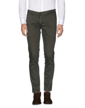 Повседневные брюки ALPHA STUDIO. Цвет: зеленый-милитари