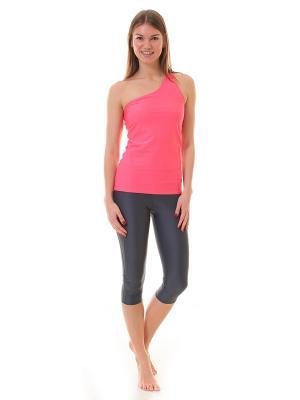 Капри Janu Grey Urban Yoga. Цвет: темно-серый