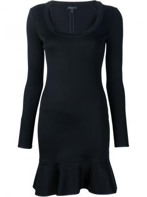 Платье с расклешенным подолом Brianna Rag & Bone. Цвет: чёрный