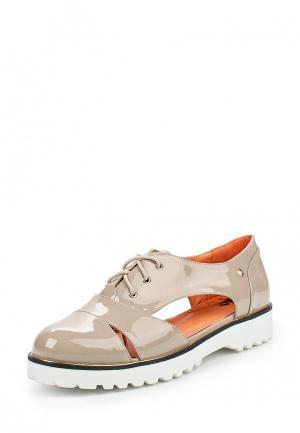 Ботинки Betsy. Цвет: бежевый