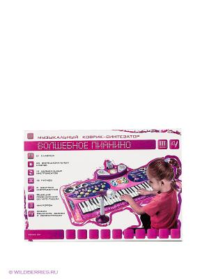 Музыкальный коврик Волшебное пианино Наша Игрушка. Цвет: фиолетовый