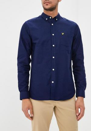 Рубашка Lyle & Scott. Цвет: синий