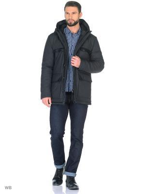 Пальто Trussardi. Цвет: темно-серый