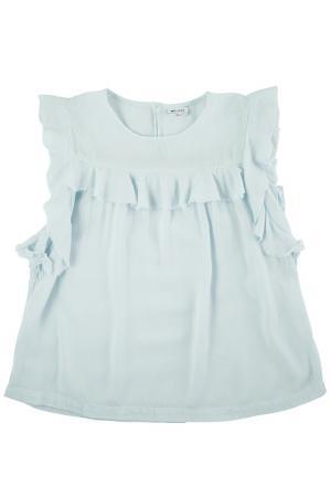 Блуза MORLEY. Цвет: голубой