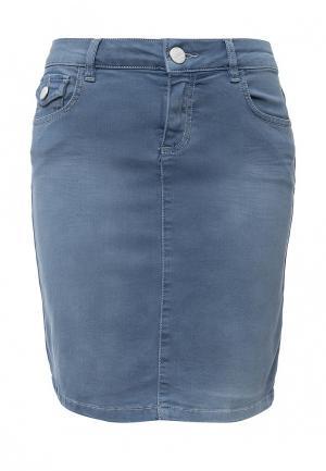 Юбка джинсовая U.S. Polo Assn.. Цвет: голубой
