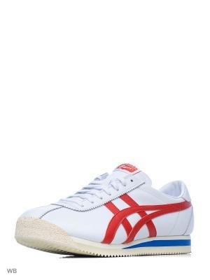Кроссовки TIGER CORSAIR ONITSUKA. Цвет: белый, красный