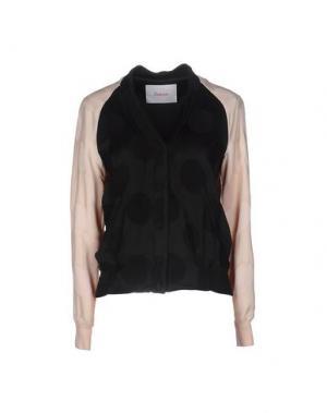 Куртка JUCCA. Цвет: черный