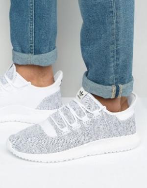 Adidas Originals Белые трикотажные кроссовки BB8941. Цвет: белый