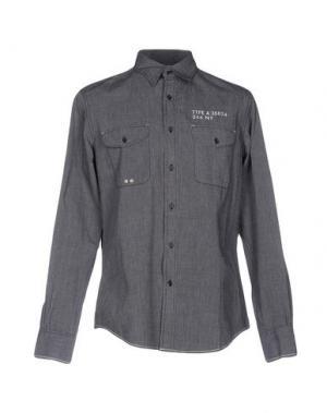 Pубашка RA-RE. Цвет: свинцово-серый