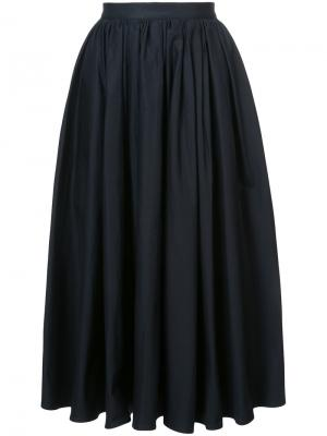 Пышная юбка Tome. Цвет: чёрный