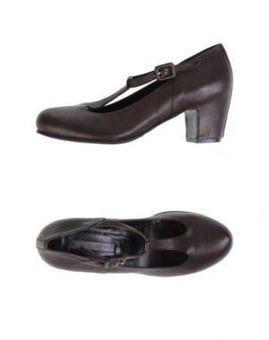 Туфли ROSAMUNDA. Цвет: темно-коричневый