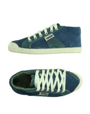 Низкие кеды и кроссовки KAWASAKI. Цвет: синий