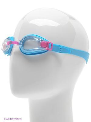 Очки для плавания детские Bubble Mad Wave. Цвет: синий