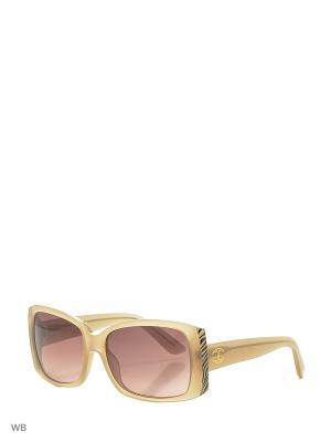 Солнцезащитные очки JC 498S 47F Just Cavalli. Цвет: бежевый