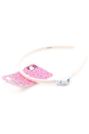 Ободок Hello Kitty. Цвет: белый