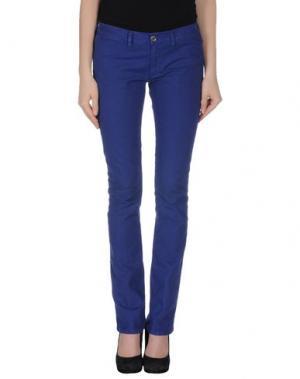 Джинсовые брюки M.GRIFONI DENIM. Цвет: темно-фиолетовый