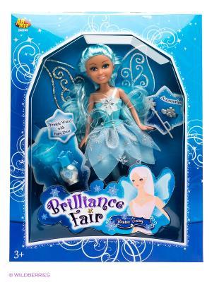 Кукла Funville. Цвет: голубой