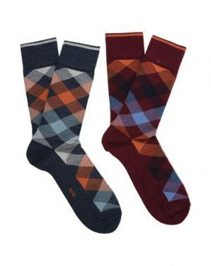 Короткие носки BURLINGTON. Цвет: красно-коричневый