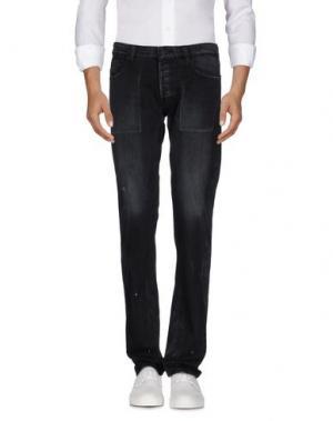 Джинсовые брюки SURFACE TO AIR. Цвет: черный