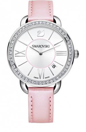 Наручные часы Aila Day Swarovski. Цвет: розовый