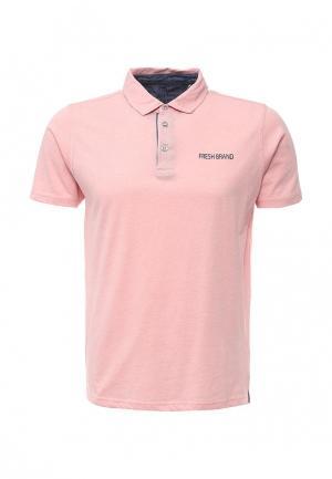 Поло Fresh Brand. Цвет: розовый