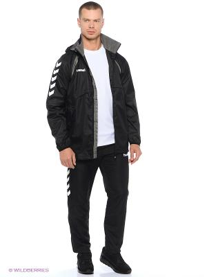 Ветровкa TEAM PLAYER ALL WEATHER JACKET HUMMEL. Цвет: черный