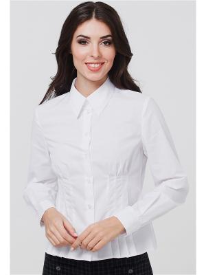 Рубашка VICTORIA VEISBRUT. Цвет: белый