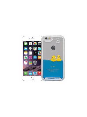 Чехол для iPhone 6/6s Утки в очках Kawaii Factory. Цвет: прозрачный, желтый, синий