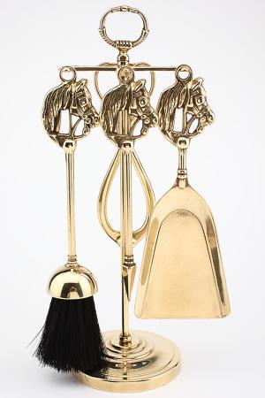 Аксессуар для камина Stilars. Цвет: золотой