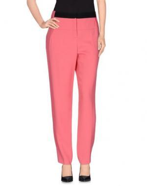 Повседневные брюки PRABAL GURUNG. Цвет: светло-фиолетовый