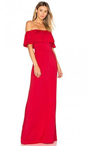 Макси платье reston Rachel Pally. Цвет: красный
