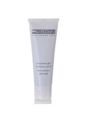 Гель-маска для глазного контура ELDAN cosmetics. Цвет: зеленый