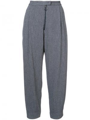 Широкие строгие брюки Rachel Comey. Цвет: синий