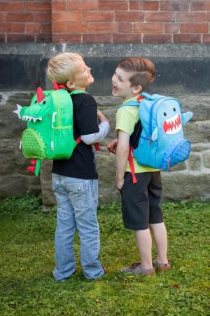 Детский рюкзак с динозавром Zoocchini. Цвет: multicolor
