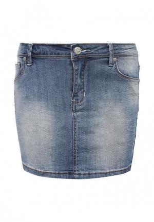 Юбка джинсовая Bruebeck. Цвет: синий
