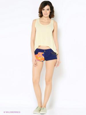 Комплект одежды RELAX MODE. Цвет: фиолетовый, светло-желтый