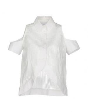 Pубашка WANDA NYLON. Цвет: белый