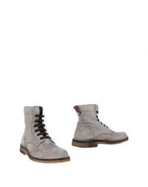 Полусапоги и высокие ботинки SWAMP. Цвет: серый