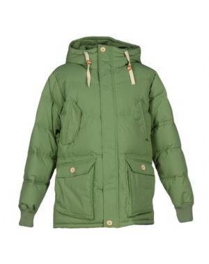 Куртка ELVINE. Цвет: зеленый
