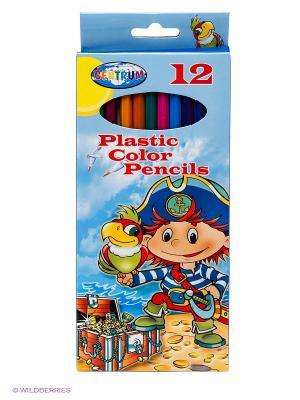 Набор цветных карандашей, 12 цветов Пират Centrum. Цвет: синий