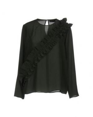 Блузка MALAICA. Цвет: темно-зеленый