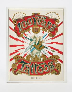 Books Книга 100 Years of Tattoos. Цвет: мульти