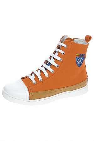 Ботинки BAILELUNA. Цвет: коралловый