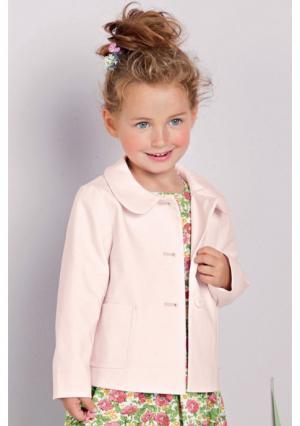 Пальто Next. Цвет: ярко-розовый