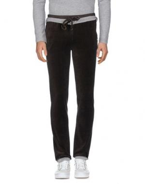 Повседневные брюки VIRTUS PALESTRE. Цвет: темно-коричневый