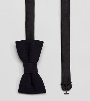 Noak Трикотажный галстук‑бабочка. Цвет: темно-синий