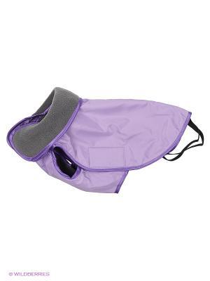 Попона демисезонная №1(м) (спина 30 см.), унисекс ТУЗИК. Цвет: фиолетовый