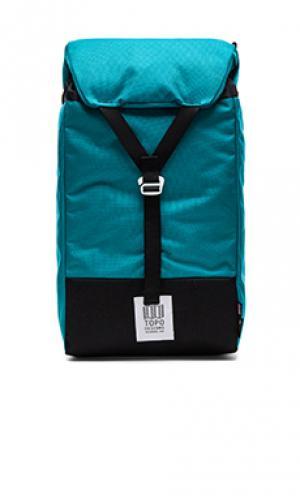 Рюкзак y-pack TOPO DESIGNS. Цвет: бирюзовый